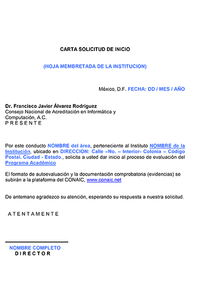 CONAIC Consejo Nacional de Acreditacin en informtica y